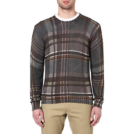 ETRO Checked jumper (Brown