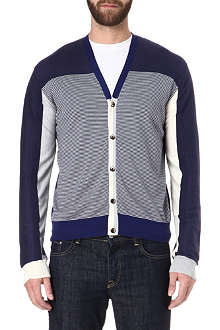ETRO Cashmere-blend striped cardigan