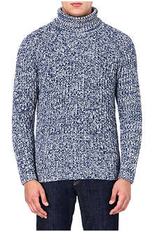ETRO Cashmere roll-neck jumper