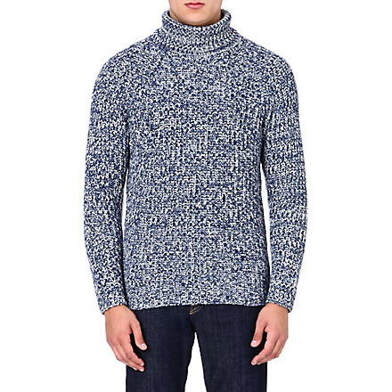ETRO Cashmere roll-neck jumper (Blue