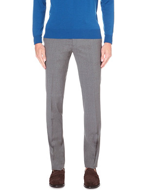 ETRO Slim-fit wool trousers