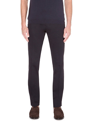 ETRO Slim-fit stretch-cotton trousers