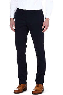 ETRO Stretch-cotton tapered trousers