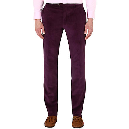 ETRO Corduroy slim-fit stretch-cotton trousers (Abrgn