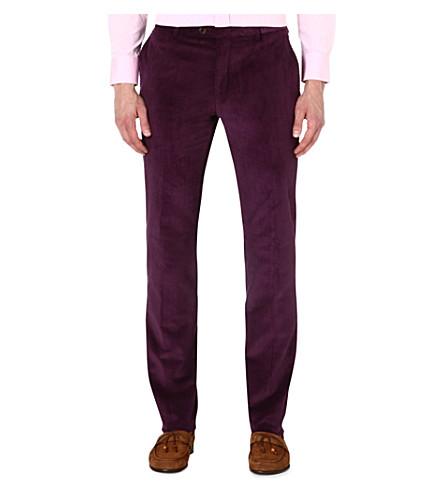 ETRO Corduroy slim-fit stretch-cotton trousers (Abrgn