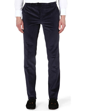 ETRO Corduroy slim-fit stretch-cotton trousers