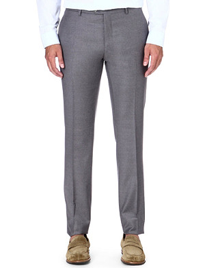 ETRO Wool and cashmere-blend trousers