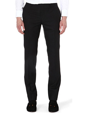 ETRO Panama slim-fit wool trousers