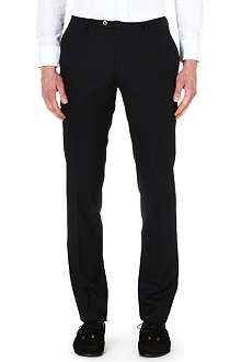 ETRO Panama slim-fit wool trousers