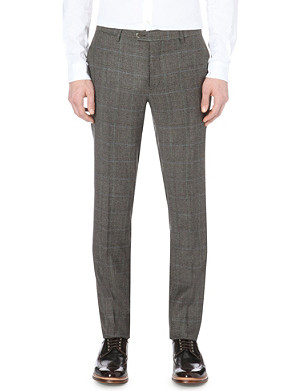 ETRO Prince of Wales checked trousers