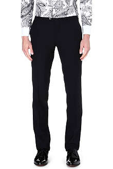 ETRO Satin stripe trousers