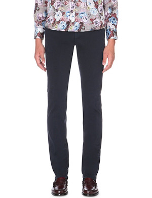 ETRO Tapered stretch-cotton chinos
