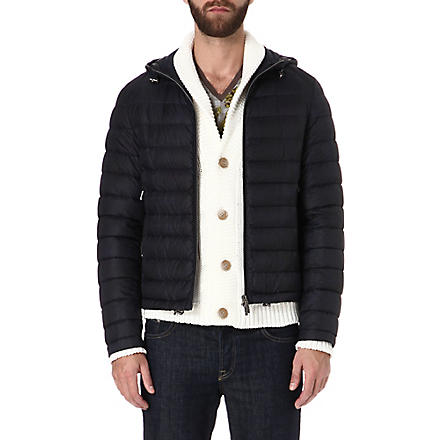ETRO Paisley check quilted jacket (Blue