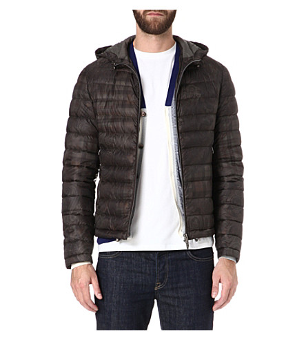 ETRO Paisley check quilted jacket (Green