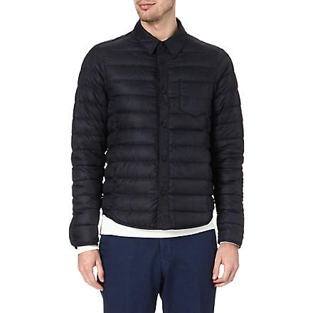 ETRO Paisley-printed quilted jacket (Blue