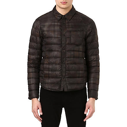 ETRO Paisley-printed quilted jacket (Green