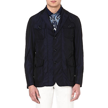 ETRO Nylon jacket (Blue