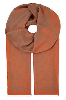 ETRO Silk-mix scarf