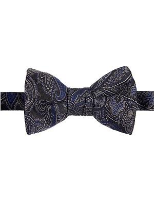 ETRO Paisley silk bowtie