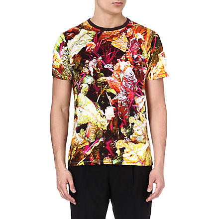 ETRO Flower-print t-shirt (Green