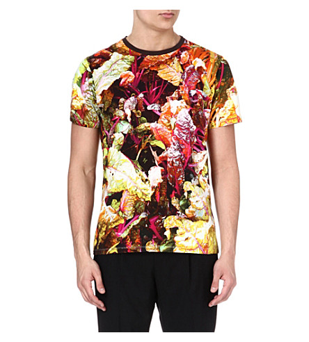ETRO Flower-print t-shirt (Green