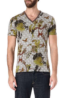 ETRO Tropical print t-shirt