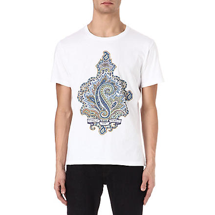ETRO Paisley t-shirt (White