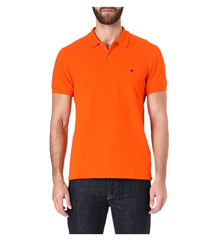 ETRO Logo polo shirt (Multi