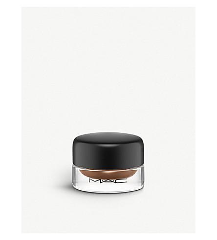 MAC Fluidline 眉 (深 + 深色 + 黑发