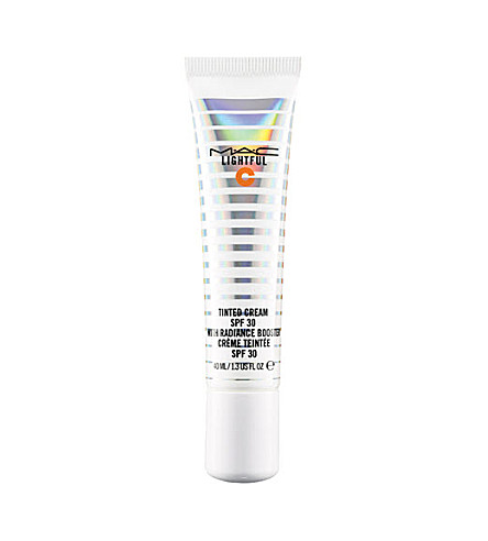 MAC Lightful C Tinted Cream SPF 30 with radiance booster (Dark