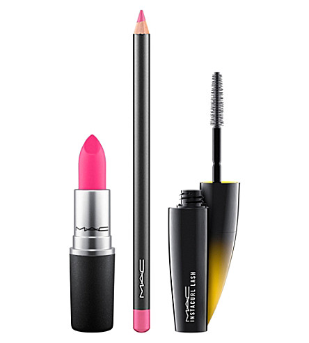 MAC Pink Lip + Lash Kit (Pink