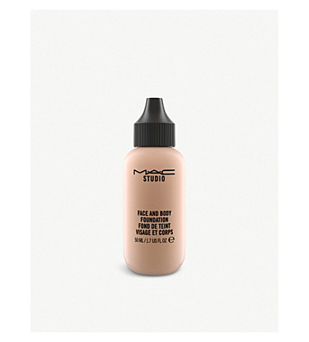 MAC Face and Body Foundation (N5