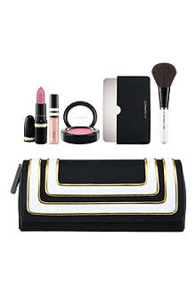 MAC Stroke of Midnight Lip and Cheek Bag: Pink