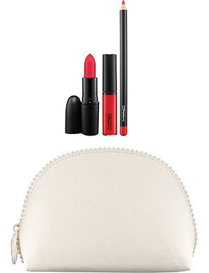MAC Keepsakes/Red Lip bag