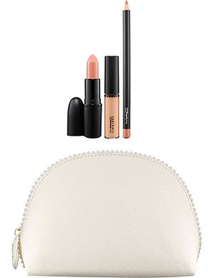 MAC Keepsake/Nude Lip bag