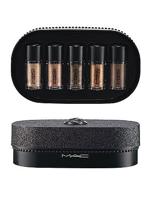 MAC Objects of Affection/Gold + Beige Pigments + Glitter