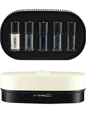 MAC Objects of Affection/Silver + Blue Pigments + Glitter