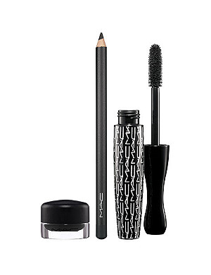 MAC MAC Look in a Box Eye Kit Classic Black