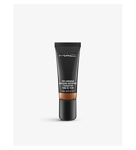 MAC Pro Longwear Nourishing Waterproof Foundation (Nw45