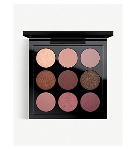 MAC Pre-filled eyes eyeshadow palette x9 (Burgandy times nine