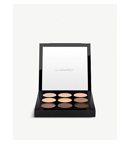 MAC Pre-filled eyes eyeshadow palette x9 (Amber+times+nine