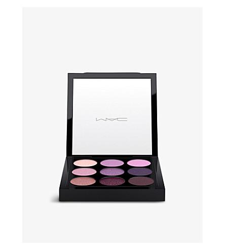 MAC Pre-filled eyes eyeshadow palette x9 (Purple times nine