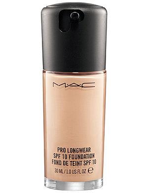 MAC Pro Longwear SPF 10 Foundation