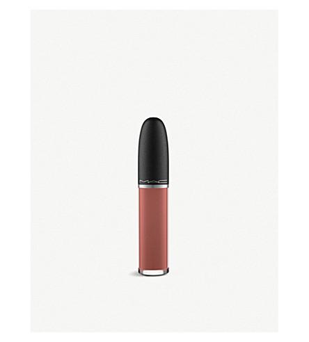 MAC Retro Matte liquid lipstick (Topped with brandy