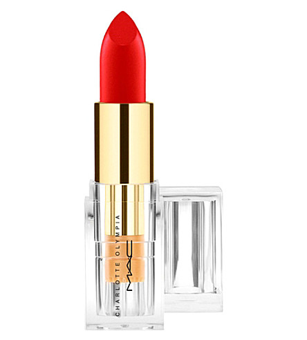 MAC Charlotte Olympia Lipstick (Starlett+scarlet