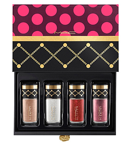 MAC Nutcracker Sweet Gold Pigments and Glitter Kit (Gold