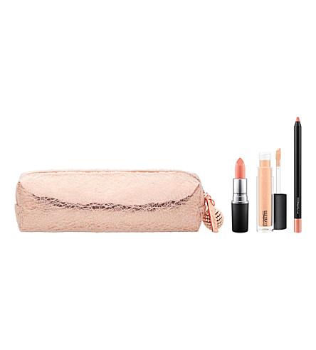 MAC Snow Ball Lip Bag (Nude