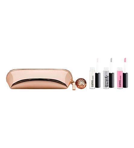 MAC Snow Ball Mini Lip Gloss Kit (Pink+silver
