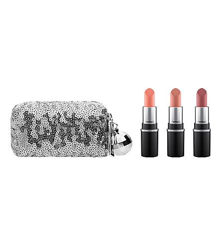 MAC Snow Ball Mini Lipstick Kit (Cool