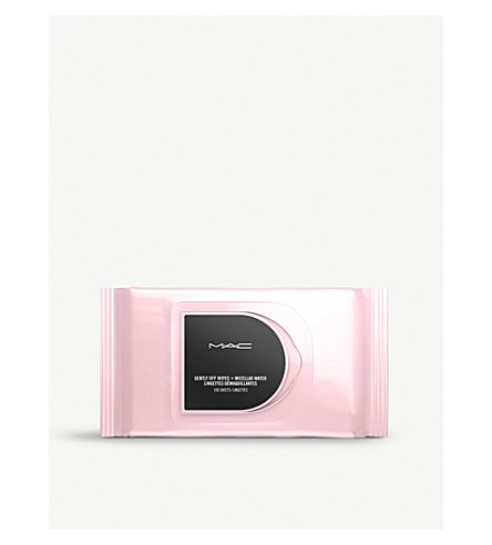 MAC 用胶束水轻轻美妆卸妆湿巾